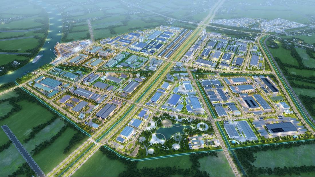 Dự án khu công nghiệp Trần Anh Tân Phú